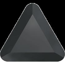 Swarovski Crystal Flat Back Hotfix 2711 Triangle Flat Back (6mm) - Jet Hematite (F) - 360 Pcs
