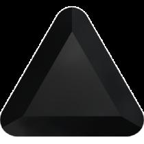 Swarovski Crystal Flat Back Hotfix 2711 Triangle Flat Back (6mm) - Jet  (F) - 360 Pcs