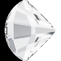 Swarovski Crystal Flat Back No Hotfix 2714 Fan Flat Back (6 mm) - Crystal (F) -360 Pcs