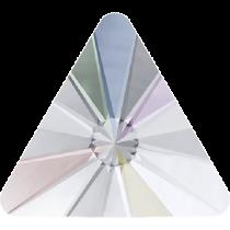 Swarovski Crystal Flat Back Hotfix 2716 Rivoli Triangle Flat Back (5 mm) - Crystal Aurore Boreale (F) -720 Pcs