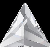 Swarovski Crystal Flat Back No Hotfix 2720 Cosmic Delta Flat Back (9 mm) - Crystal (F) - 180 Pcs