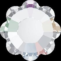 Swarovski Crystal Flat Back Hotfix 2728 Marguerite Flat Back SS-16 ( 3.90mm) - Crystal Aurore Boreale (F) -1440 Pcs