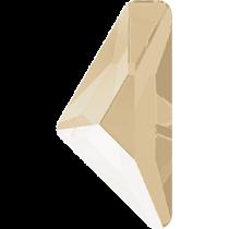 Swarovski Crystal Flatback Hotfix 2738 Triangle Alpha Flat Back (12.00x6.00 mm) - Crystal Ivory Cream (F) - 96 Pcs