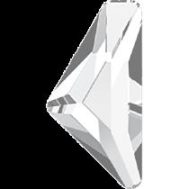 Swarovski Crystal Flatback Hotfix 2738 Triangle Alpha Flat Back (12.00x6.00 mm) - Crystal (F) - 96 Pcs