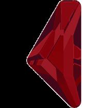 Swarovski Crystal Flatback Hotfix 2738 Triangle Alpha Flat Back (12.00x6.00 mm) - Light Siam (F) - 96 Pcs