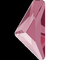 Swarovski Crystal Flatback No Hotfix 2738 Triangle Alpha Flat Back (12.00x6.00 mm) - Crystal Dark Red (F) - 96 Pcs