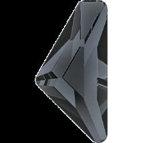 Swarovski Crystal Flatback No Hotfix 2738 Triangle Alpha Flat Back (12.00x6.00 mm) - Crystal Silver Night (F) - 96 Pcs