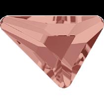 Swarovski Crystal Flatback No Hotfix 2739 Triangle Beta Flat Back (5.80x5.30 mm) - Blush Rose (F) - 216 Pcs