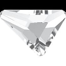 Swarovski Crystal Flatback No Hotfix 2739 Triangle Beta Flat Back (5.80x5.30 mm) - Crystal (F) - 216 Pcs
