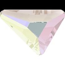 Swarovski Crystal Flatback No Hotfix 2739 Triangle Beta Flat Back (5.80x5.30 mm) - Crystal Aurore Boreale(F) - 216 Pcs