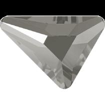 Swarovski Crystal Flatback No Hotfix 2739 Triangle Beta Flat Back (5.80x5.30 mm) - Crystal Dark Grey (F) - 216 Pcs