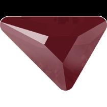 Swarovski Crystal Flatback No Hotfix 2739 Triangle Beta Flat Back (5.80x5.30 mm) - Crystal Dark Red (F) - 216 Pcs