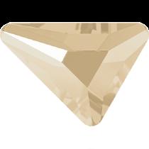 Swarovski Crystal Flatback No Hotfix 2739 Triangle Beta Flat Back (5.80x5.30 mm) - Crystal Ivory Cream (F) - 216 Pcs