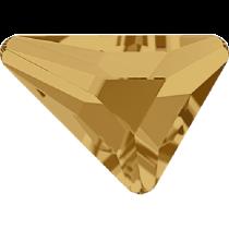 Swarovski Crystal Flatback No Hotfix 2739 Triangle Beta Flat Back (5.80x5.30 mm) - Light Colorado Topaz (F) - 216 Pcs