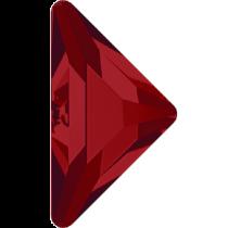 Swarovski Crystal Flatback Hotfix 2740 Triangle Gamma Flat Back(10.00x10.00 mm) - Light Siam (F) - 96 Pcs