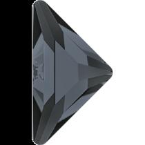 Swarovski Crystal Flatback No Hotfix 2740 Triangle Gamma Flat Back(10.00x10.00 mm) - Crystal Silver Night (F) - 96 Pcs