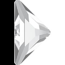 Swarovski Crystal Flatback No Hotfix 2740 Triangle Gamma Flat Back(10.00x10.00 mm) - Crystal (F) - 96 Pcs
