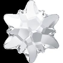Swarovski Crystal Flatback No Hotfix 2753 Edelweiss Flat Back (10 mm) - Crystal (F) - 72 Pcs