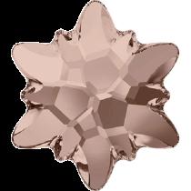 Swarovski Crystal Flatback No Hotfix 2753 Edelweiss Flat Back (10 mm) - Vintage Rose (F) - 72 Pcs