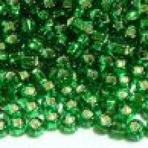 SEED BEAD 11/0 JAPANESE Emerald Green SL/SH (82)
