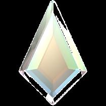 Swarovski Crystal Flatback Hotfix 2771 Kite Flat Back (12.90x8.30 mm) - Crystal Aurore Boreale (F) - 144 Pcs