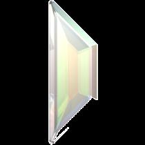 Swarovski Crystal Flatback Hotfix 2772 Trapeze Flat Back (6.50x2.10 mm) - Crystal Aurore Boreale (F) - 288 Pcs