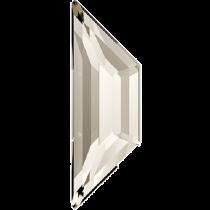 Swarovski Crystal Flatback Hotfix 2772 Trapeze Flat Back (6.50x2.10 mm) - Crystal Silver Shade (F) - 288 Pcs
