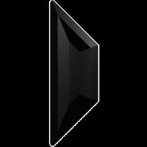 Swarovski Crystal Flatback Hotfix 2772 Trapeze Flat Back (8.60x2.80 mm) - Jet (F) - 288 Pcs