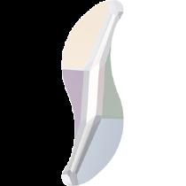 Swarovski Crystal Flat Back Hotfix 2788 Wave Flat Back (8mm) - Crystal Aurore Boreale (F) - 288 Pcs