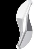 Swarovski Crystal Flat Back Hotfix 2788 Wave Flat Back (10 mm) - Crystal (F) - 216 Pcs