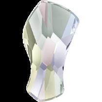 Swarovski Crystal Flat Back No Hotfix 2798Contour Flat Back (10 mm) - Crystal Aurore Boreale (F) - 144 Pcs