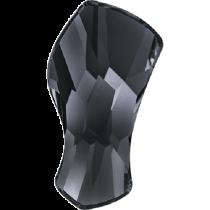 Swarovski Crystal Flat Back No Hotfix 2798Contour Flat Back (10 mm) - Crystal Silver Night (F) - 144 Pcs