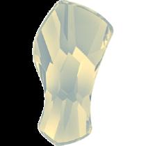 Swarovski Crystal Flat Back No Hotfix 2798Contour Flat Back (10 mm)- White Opal (F) - 144 Pcs