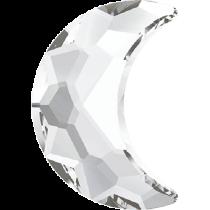 Swarovski Crystal Flatback Hotfix 2813 Moon Flat Back (8.00x5.50 mm) - Crystal (F) - 144 Pcs