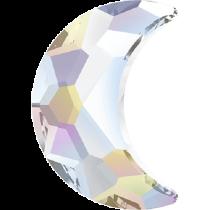 Swarovski Crystal Flatback No Hotfix 2813 Moon Flat Back (8.00x5.50 mm) - Crystal Aurore Boreale(F) - 144 Pcs