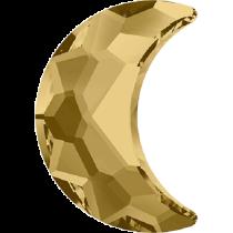 Swarovski Crystal Flatback No Hotfix 2813 Moon Flat Back (8.00x5.50 mm) - Light Colorado Topaz (F) - 144 Pcs