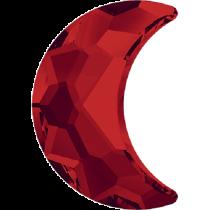 Swarovski Crystal Flatback No Hotfix 2813 Moon Flat Back (8.00x5.50 mm) - Light Siam (F) - 144 Pcs