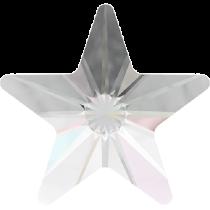 Swarovski Crystal Flat Back Hotfix 2816 Rivoli Star Flat Back (5mm) - Crystal Aurore Boreale (F) - 720 Pcs