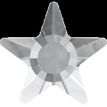 Swarovski Crystal Flat Back Hotfix 2817 Star Flat Back (5mm) - Crystal (F) - 720 Pcs