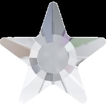 Swarovski Crystal Flat Back Hotfix 2817 Star Flat Back (5mm) - Crystal Aurore Boreale (F) - 720 Pcs
