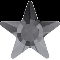 Swarovski Crystal Flat Back Hotfix 2817 Star Flat Back (5mm) - Crystal Silver Night (F) - 720 Pcs