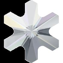 Swarovski Crystal Flatback Hotfix 2826 Rivoli Snowflake Flat Back (5 mm) - Crystal Aurore Boreale(F) - 720 Pcs