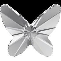 Swarovski Crystal Flatback No Hotfix 2854 Butterfly Flat Back (8 mm) - Crystal (F) - 216 Pcs