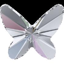 Swarovski Crystal Flatback No Hotfix 2854 Butterfly Flat Back (8 mm) - Crystal Aurore Boreale (F) - 216 Pcs