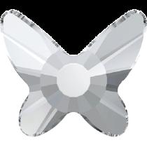Swarovski Crystal Flatback Hotfix 2855 Butterfly Flat Back (8 mm) - Crystal (F) - 216 Pcs