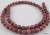 Rhodonite Round -4mm Beads