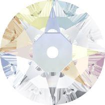 Swarovski ® Crystal Sew On 3188 Lochrose Round- 4mm- Crystal AB F- 1440 Pcs.