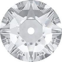 Swarovski ® Crystal Sew On 3188 Lochrose Round- 3mm- Crystal F- 1440 Pcs.