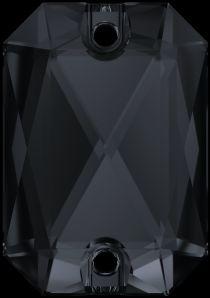 Swarovski Crystal 3252 Emerald Cut Sew On stone 20 x 14mm- Graphite (F)- 15  Pcs.