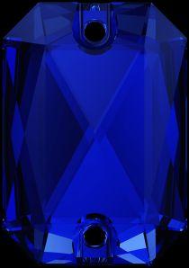 Swarovski Crystal 3252 Emerald Cut Sew On stone 20 x 14mm- Majestic Blue (F)- 15 Pcs.